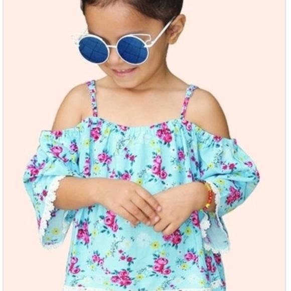 c4dd58e423377 Girls Off The Shoulder Top. Boutique. Cutie Patootie